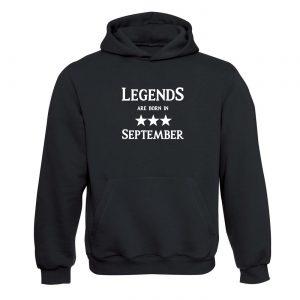 Legendy sa rodia v Septembri