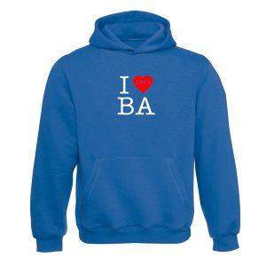 I love BA