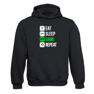 Eat sleep game and repeat