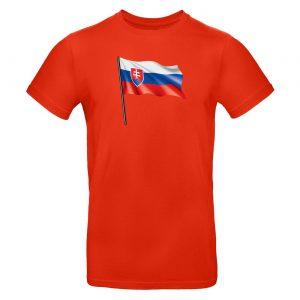 Mužské tričko - Slovenská vlajka 2