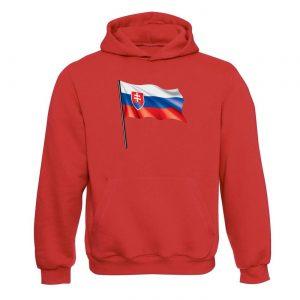 Unisex mikina - Slovenská vlajka 2