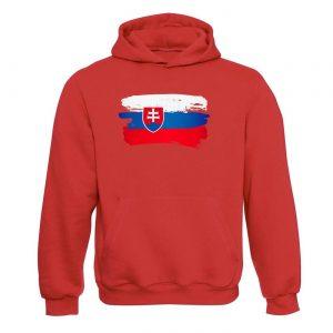 Slovenská vlajka mikina