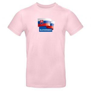 Mužské tričko - Slovensko s vlajkou 3