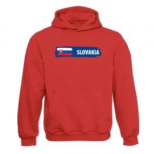 Unisex mikina - Slovakia s vlajkou