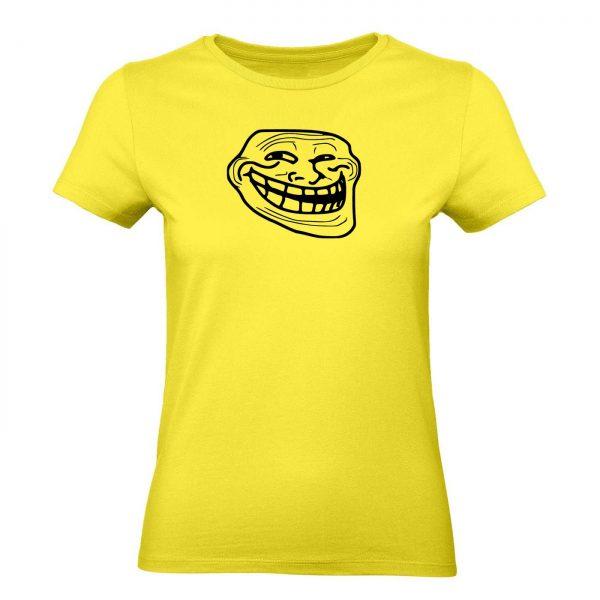 Ženské tričko - Troll face
