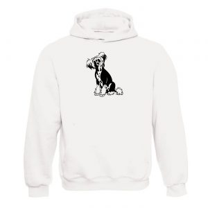 Unisex mikina - Čínsky Chocholatý pes
