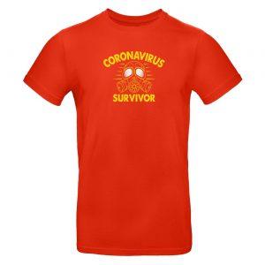 Mužské tričko - Coronavirus Survivor