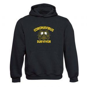 Unisex mikina - Coronavirus Survivor