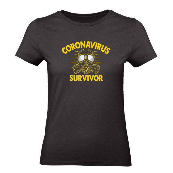 Ženské tričko - Coronavirus Survivor