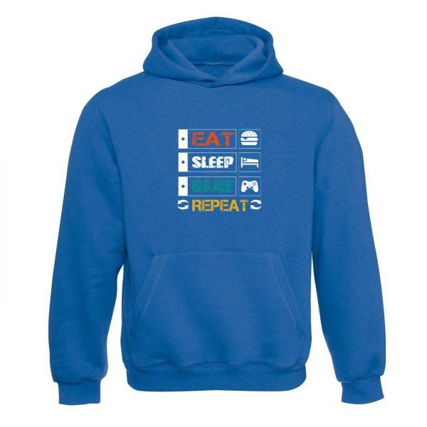 Unisex mikina - Eat Sleep Game Repeat