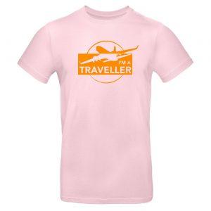 Mužské tričko - I am Traveler