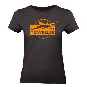 Ženské tričko - I am Traveler